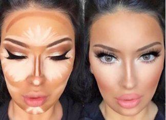 μακιγιάζ-contouring
