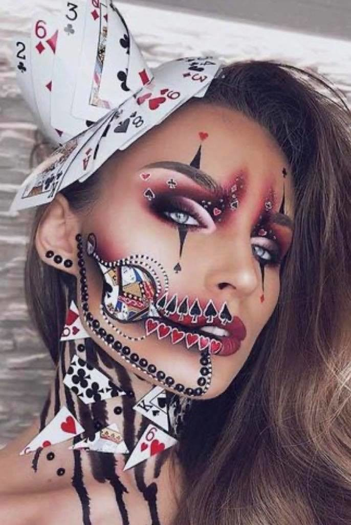 Halloween-make-up
