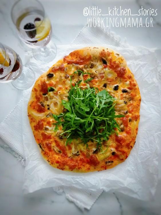 συνταγή-για-πίτσα