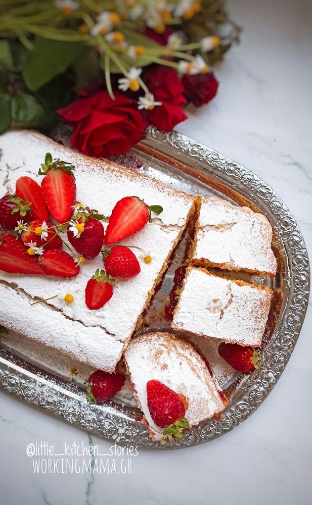 κέικ βανίλιας συνταγή
