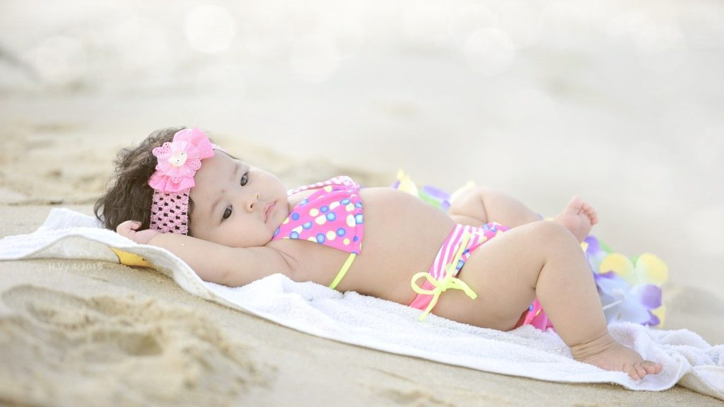 διακοπές με μωρό